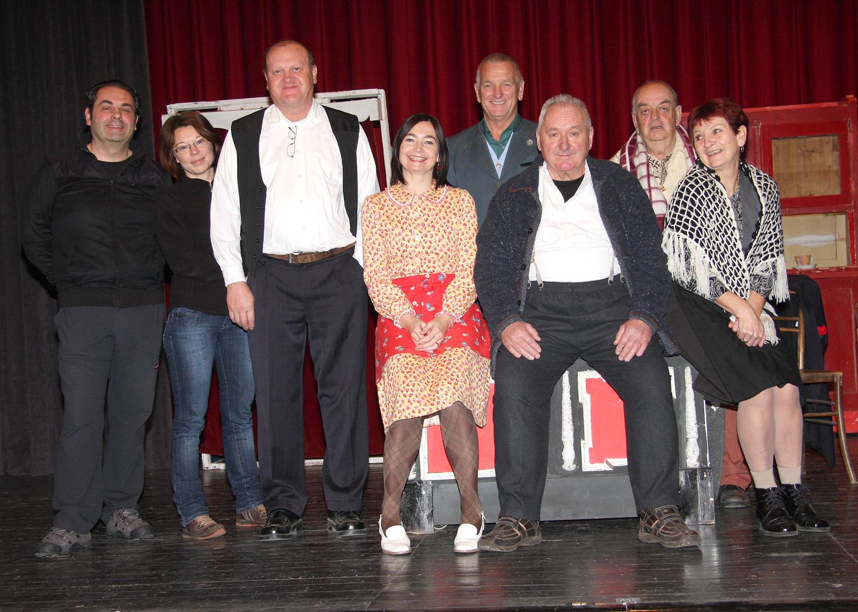 Premiera predstave je bila v soboto, 12. januarja ob 19. uri v dvorani Kulturnega doma na Polzeli.