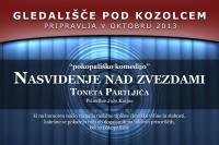Gledališče pod kozolcem, Tone Partljič, Nasvidenje nad zvezdami, pokopališka komedija, Kulturno društvo Šmartno ob Paki, Mateizem